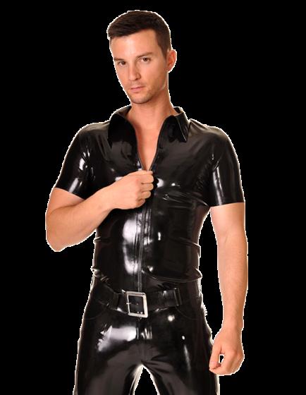 Zipper Shirt (Short Sleeves)