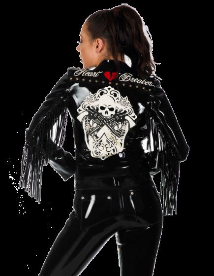 Deluxe Western Biker Jacket