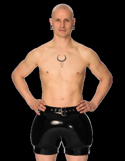 Inflatable Bondage Shorts
