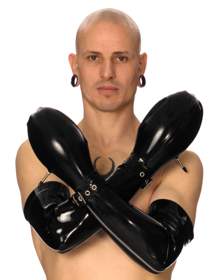 Long Inflatable Mitts