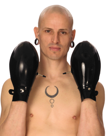 Inflatable Palm Mitts