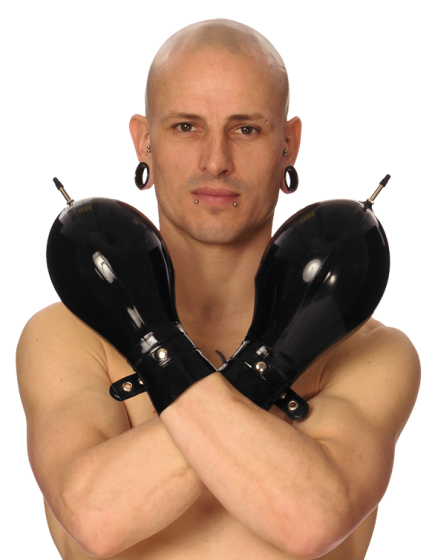 Inflatable Fist Mitts