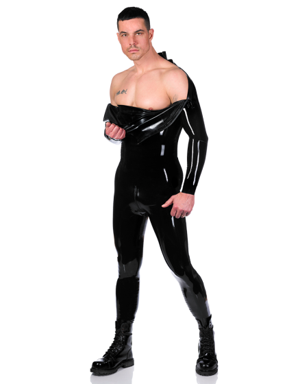 Shoulder Zip Catsuit
