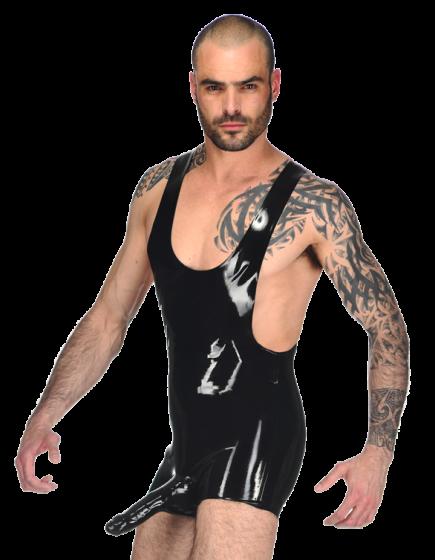 Johnny Wrestler Suit