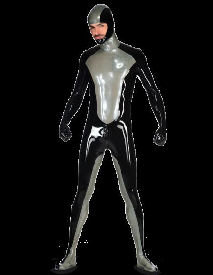 Latex Hero Catsuit for Men