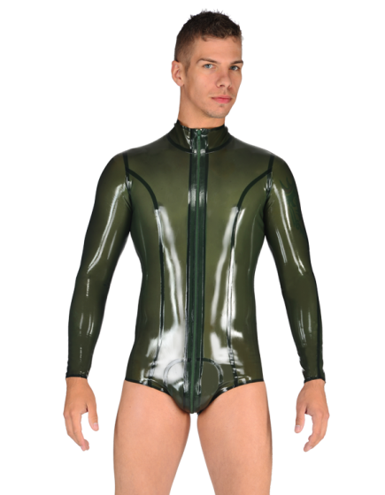 Duke Leotard with Pouch (Low Cut)