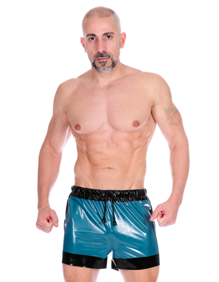 Trimmed Drawstring Boxers