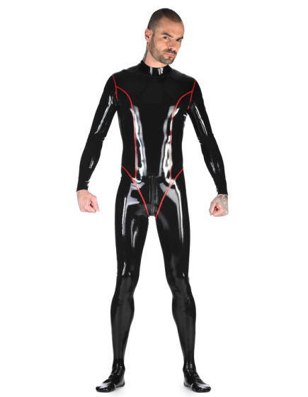Latex Earl Catsuit for Men