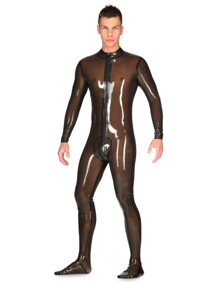 Latex Neo Catsuit (with pouch)