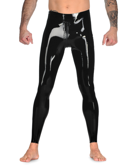 Male Leggings With Zip, NO Feet