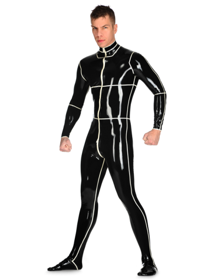 Latex Male Ashleigh Catsuit for Men
