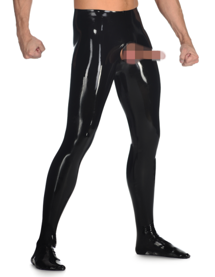 Male Exposed Tights
