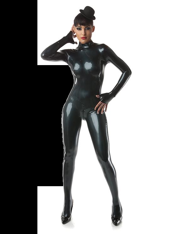 Latex catsuit latex catsuit