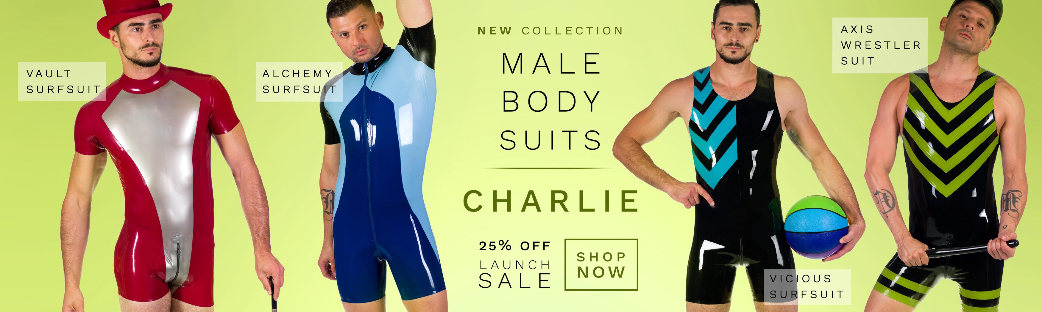MALE BODYSUITS CHARLIE