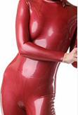metallic red small