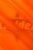 semi transparent vibrant orange small