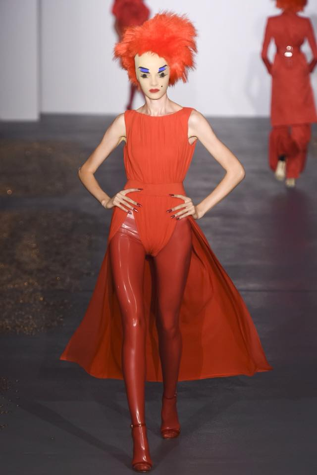 Libidex designs at London Fashion Week