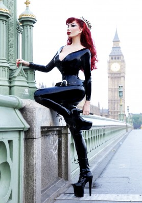 Mistress Eve in full Libidex attire