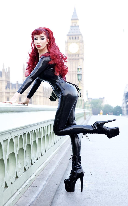 Mistress Eve in full Libidex attire | News & events