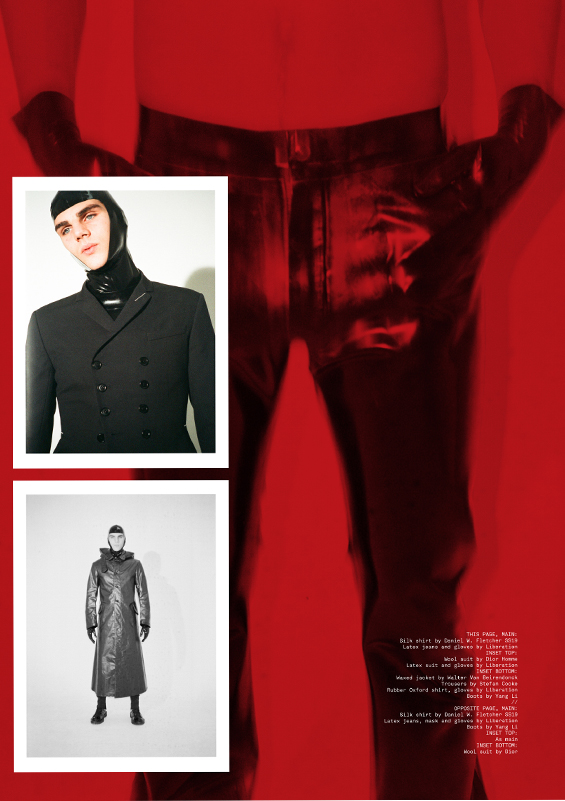 Libidex Male Fashion Featured in Clash Magazine