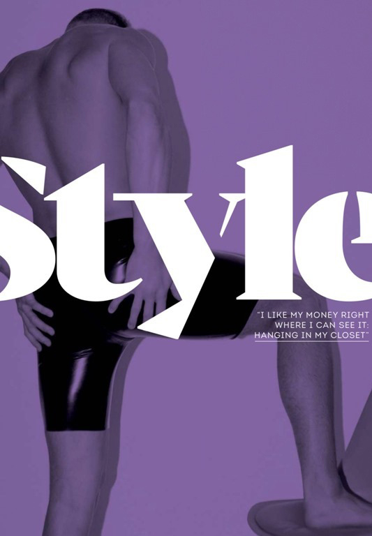 More Male Fashion in Attitude magazine